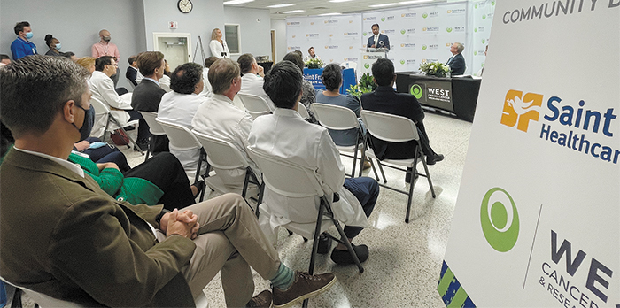 West Cancer Center and Saint Francis Healthcare Announce Joint Relationship